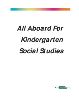 All Aboard for Kindergarten Social Studies - Student Edition