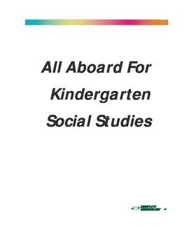 All Aboard for Kindergarten Social Studies - Teacher's Edition
