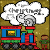 All Aboard for Polar Express Math Grades 2-3  Skills Christmas Fun in One!