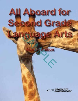 All Aboard for Second Grade Language Arts Digital Student and Teacher's Edition