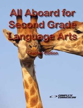 All Aboard for Second Grade Language Arts - Teacher's Edition