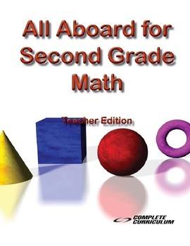 All Aboard for Second Grade Math - Teacher's Edition