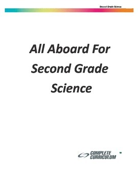 All Aboard for Second Grade Science - Teacher's Edition