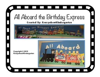 All Aboard the Birthday Express!