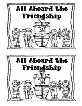 All Aboard the Friendship Booklet-Pirate Themed