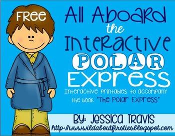 All Aboard the INTERACTIVE Polar Express {Interactive Templates}