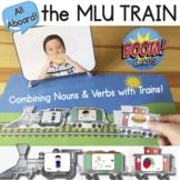 All Aboard the MLU Train! Noun Verb Object Combinations for 3 MLU