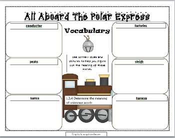 English teaching worksheets: Polar Express