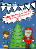 All Aboard the Polar Express for Math Word Problems and More