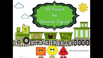 All Aboard the Shamrock Express with 2D and 3D Shapes