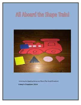 All Aboard the Shape Train!