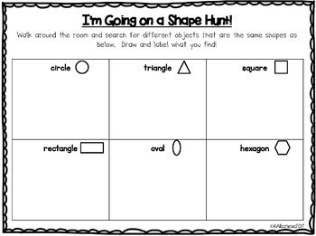 All About 2-D Shapes!