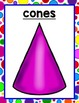 All About 3-D Shapes for Preschool, Pre-K, Kindergarten & Homeschool