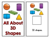 All About 3D Shapes Adapted Book (2 Levels)