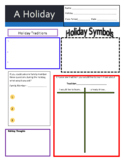 All About - A Holiday! Secondary and Upper Elementary