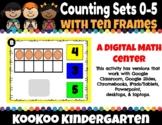 DIGITAL KINDERGARTEN MATH CENTER- How Many Crayons?