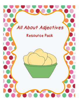 Adjectives Resource Pack