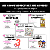 All About Adjectives and Adverbs Game Pack