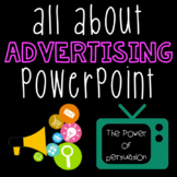 All About Advertising (Persuasive Text) PowerPoint