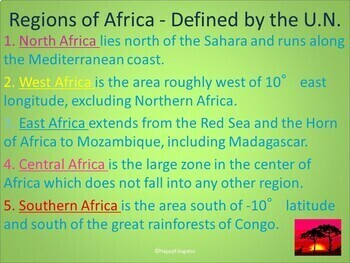 Africa PowerPoint with Fun Facts and Photos