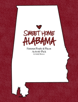All About Alabama Activity Pack