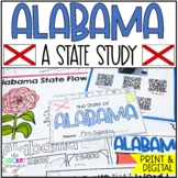 All About Alabama: Informational book including facts, geography, symbols, etc.