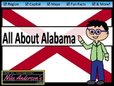All About Alabama | US States | Activities & Worksheets
