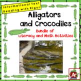 Alligators and Crocodiles Math & Literacy