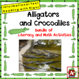 Alligators and Crocodiles Math & Literacy