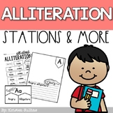 Alliteration Activities and Stations