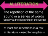 All About Alliteration! - A Presentation