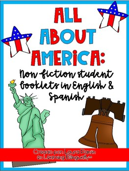 All About America Non-Fiction Book (Bilingual)