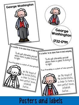 All About American Hero: George Washington {a mini-unit}