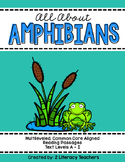 All About Amphibians: CCSS Aligned Leveled Reading Passages and Activities