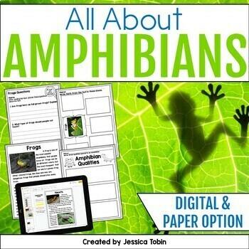 Amphibians Nonfiction Unit