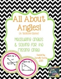 Measuring Angles & Angle Relationships Game