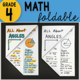 Math Doodle - All About Angles ~ INB Foldable Notes ~