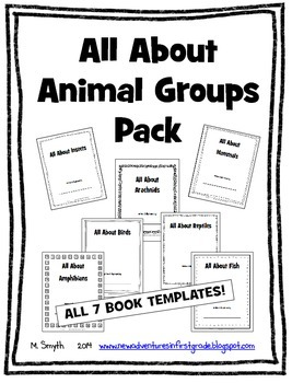 All About Animal Groups Mega Pack