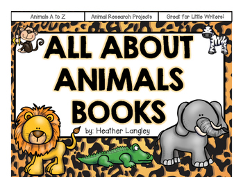 All About Animal Books