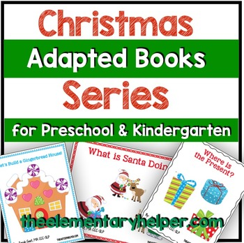 Christmas Series Adapted Books for Preschool and Kindergarten