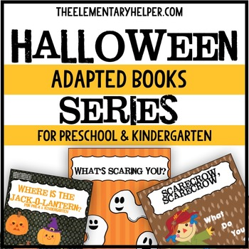 Halloween Series Adapted Book for Preschool and Kindergarten