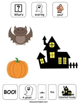 Halloween Series Adapted Book for Preschool and Kindergarten
