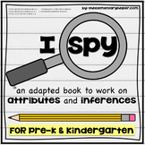 I Spy: Attributes and Inferences Adapted Book for Preschoo
