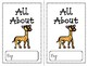All About Animals Book (Informational)