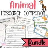 Animal Report Research Project Bundle