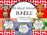 All About Animals: Bundle: Animal Types, Animal Body Coverings, Animal Movement