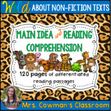 All About Animals Bundle: Reading Comprehension & Main Idea Passages