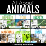 Animals Nonfiction Bundle with Google Classroom Distance Learning