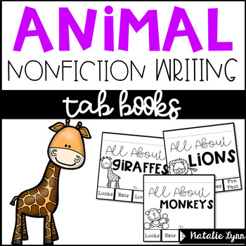 All About Animals Nonfiction Writing