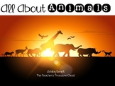 All About Animals: Printable Book
